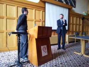 Dr John Curran Converses with Oliver O'Sullivan